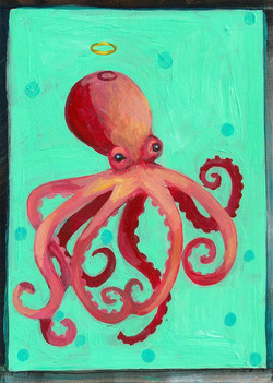 Pink Octopus Halo