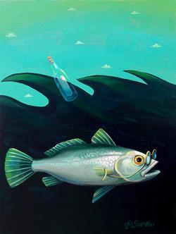 Silver Sea Bass Message