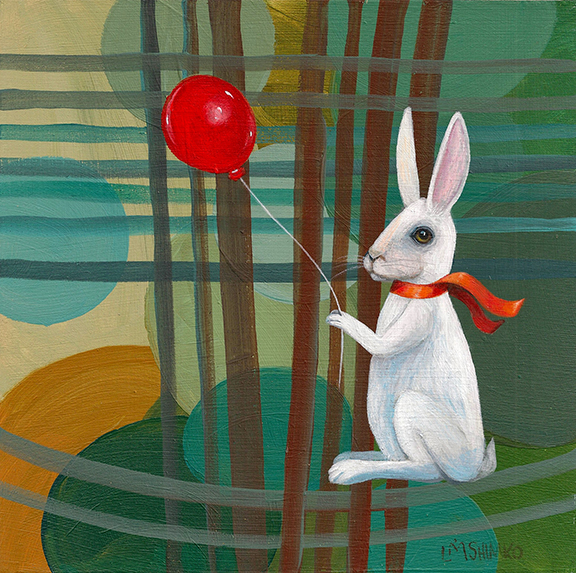 White Rabbit Red Balloon II