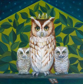 Royal Owl Family