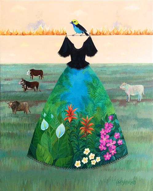 Mourning Dress (Jungle)