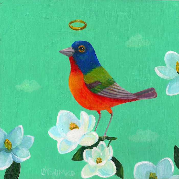 Magnolia Painted Bunting