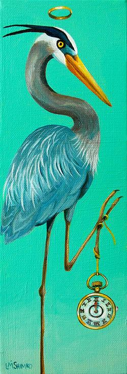 Blue Heron Time