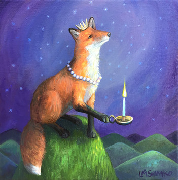Fox Guide Candle