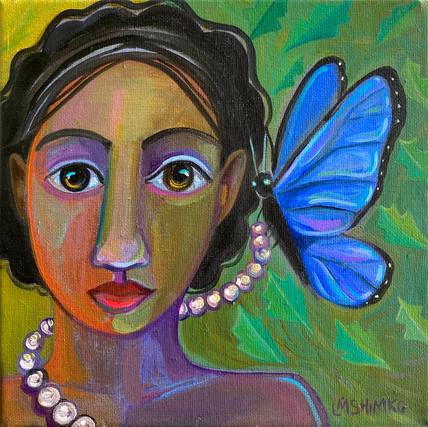 Dream Gaze Blue Butterfly