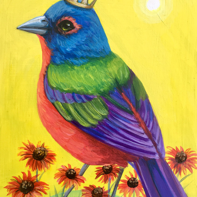 Spring Painted Bunting