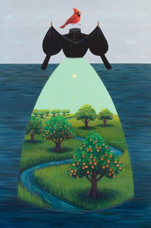 Mourning Dress (Orange Orchard)