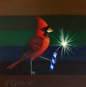 Firecracker Cardinal II