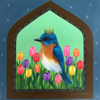 Bluebird Spring Dream