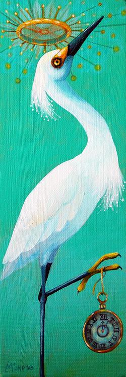 Snow Egret Time