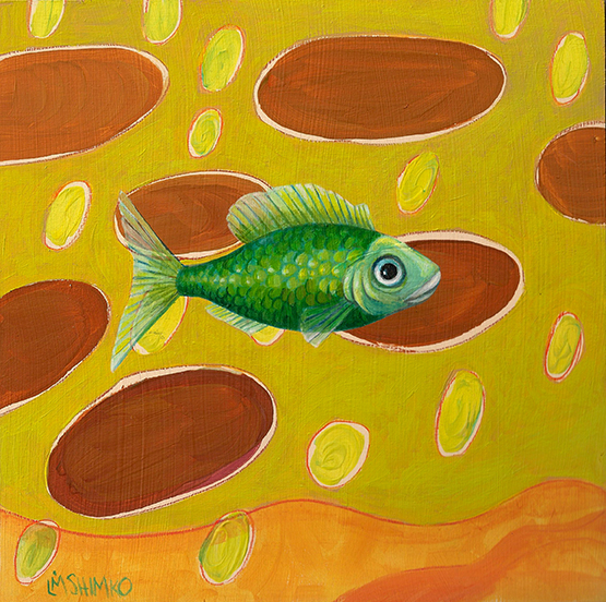 Green Fish Autumn
