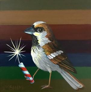 Firecracker Sparrow