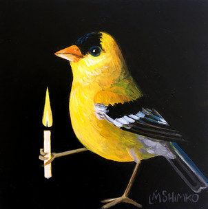 Candle Goldfinch