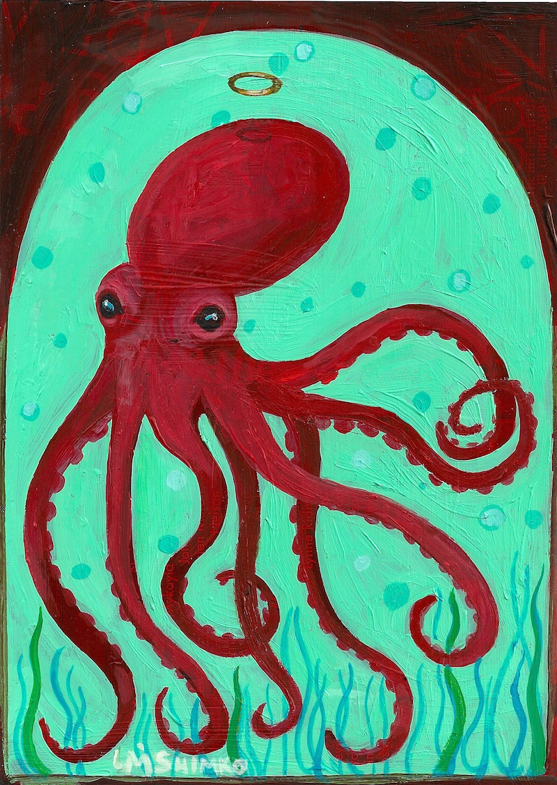 Red Octopus Halo