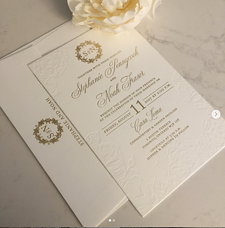 Blind Impression and Gold Foil