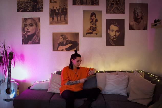 Silance raconte son confinement pour l'émission Vertigo