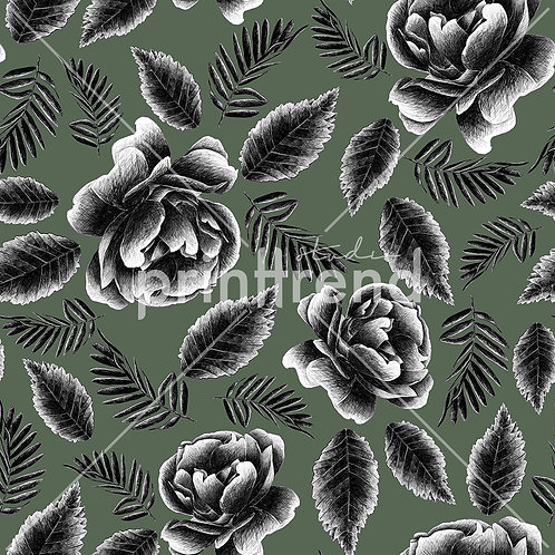 Colourless army Rose - Exclusive PSD
