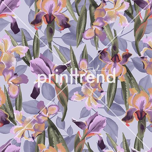 Purple pastel garden - Standard JPEG