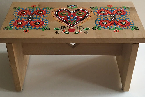 Wooden Stool Folklore