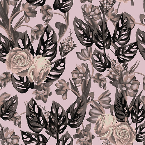 Neutral leaves and roses - Exclusive PSD