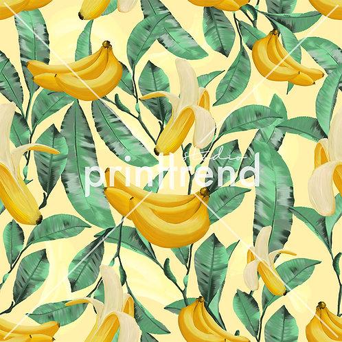 Banana tropical print - Standard JPEG