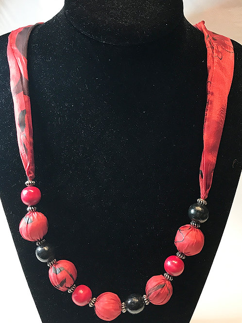 Silk Necklace -RB1