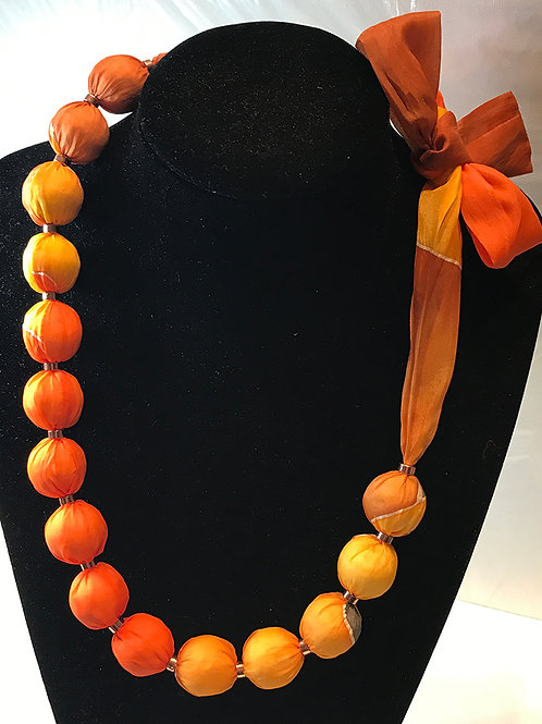 Silk Necklace -YO1
