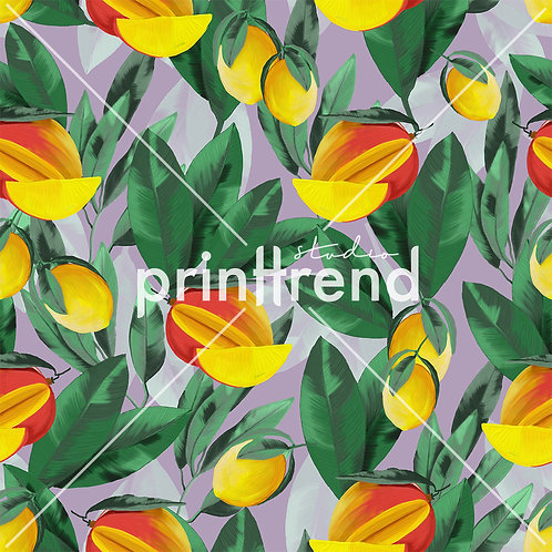 Mango tropical print - Standard JPEG