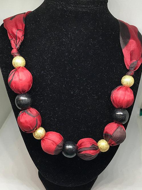 Silk Necklace -BR1