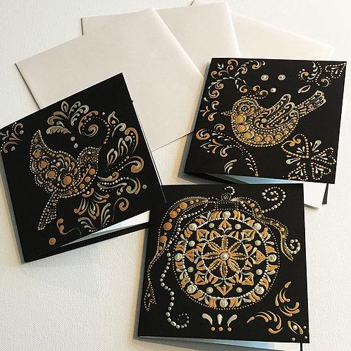 Christmas Cards - Birds