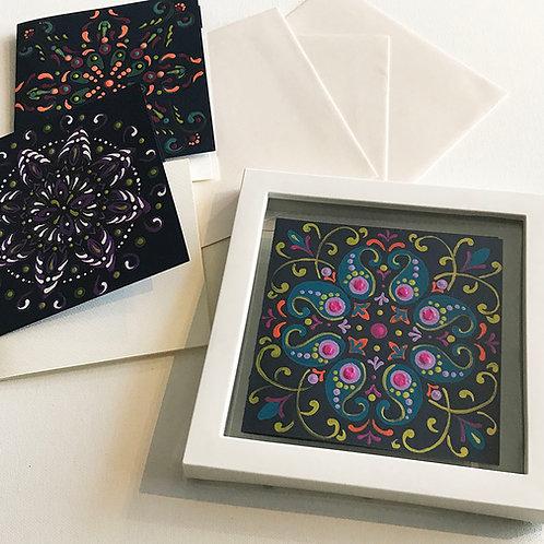 Greeting Cards Mandala