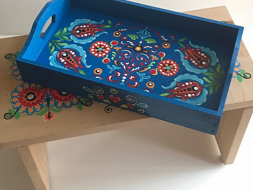 Wooden Tray Folklore