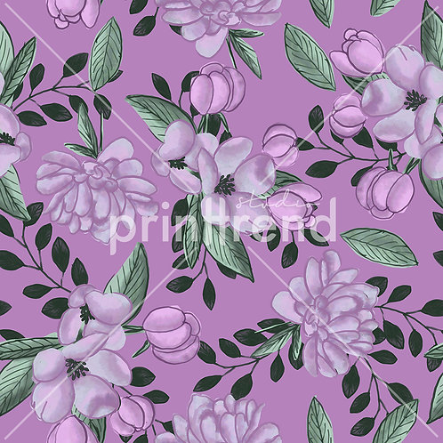 Purple watercolours - Exclusive PSD