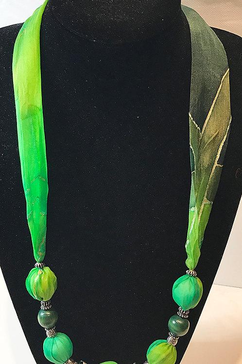 Silk Necklace -G2