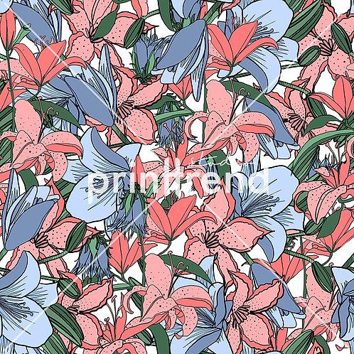 Vibrant linear petals - Exclusive PSD