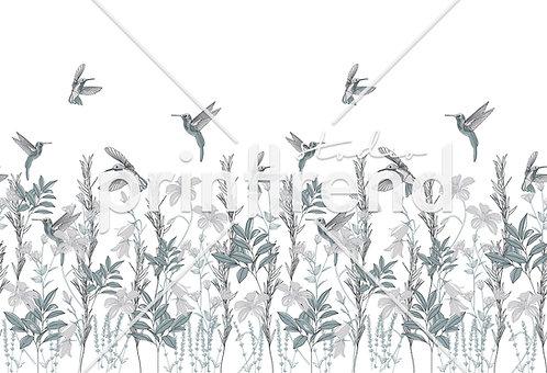 Green and grey birds - Standard JPEG