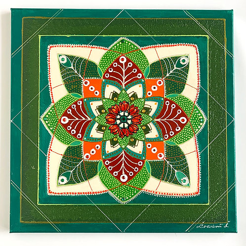 Mandala Spring - painting