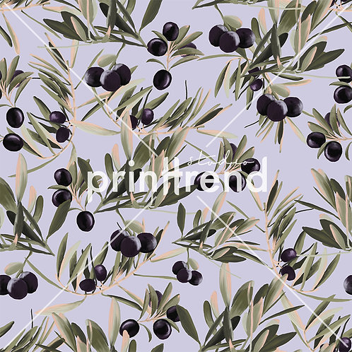 Olive garden print - Exclusive PSD
