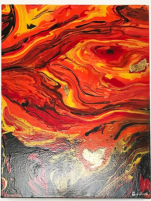 Fire - painting