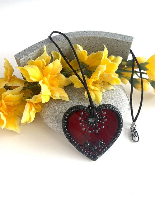 Vino Heart Necklace
