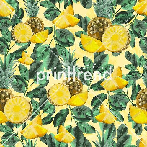 Pineapple tropical print - Standard JPEG