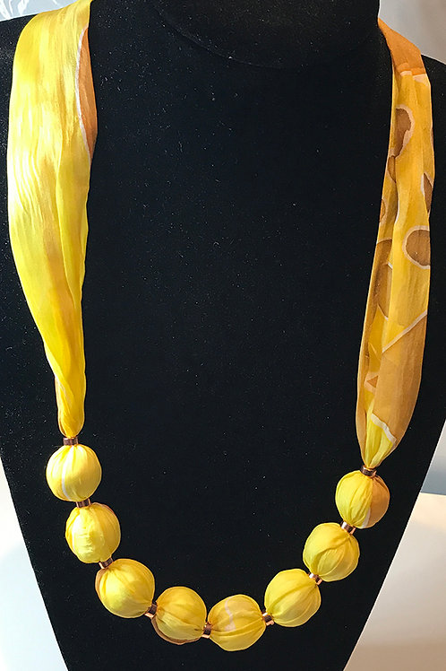 Silk Necklace -YB
