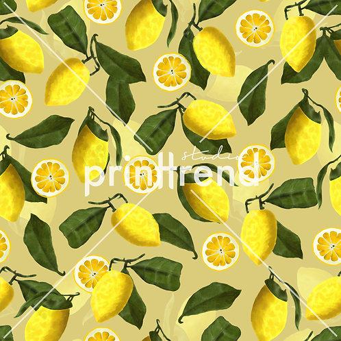 Lemon print - Exclusive PSD