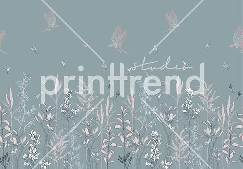 Meadow dragonflies and birds - Standard JPEG