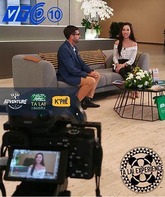 VTC 10 interviewed Ta Lai Adventure Boss