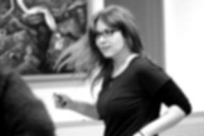 Анна Суэйзи - преподаватель хастла и блюза