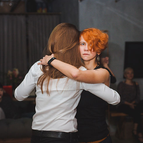 Анна Вернова - квир-танго в Москве