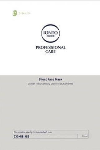 Sheet Face Mask Green Tea- Maska pro aknózní pleť