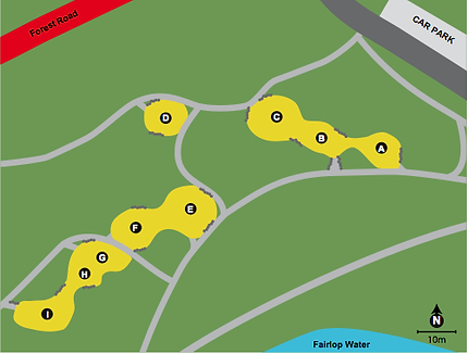 Fairlop Waters Map
