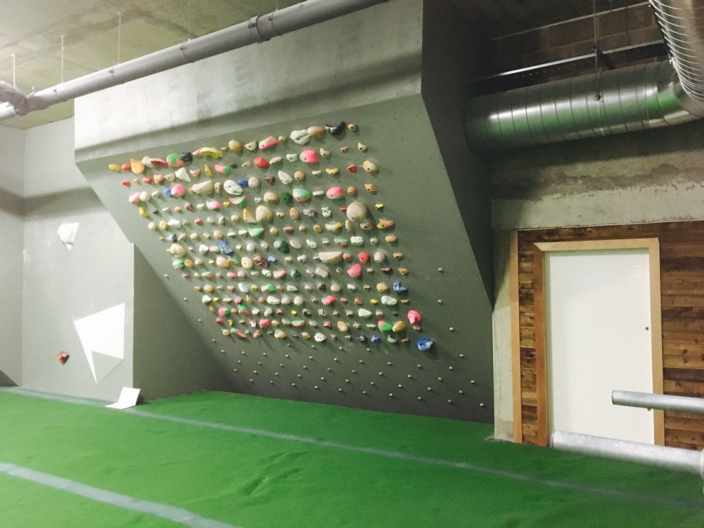 Arch North - training wall